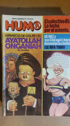 revista humor, nº 67,  argentina