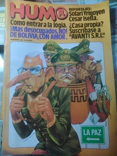 revista humor. n. 93