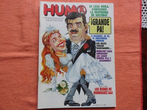 revista humor - nro.292 - 1991 -rodriguez saa-gabriela acher