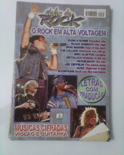 revista idolos do rock 64
