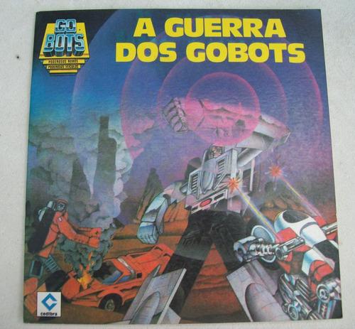 revista ilustrada: a guerra dos gobots - steve ditko - 1987