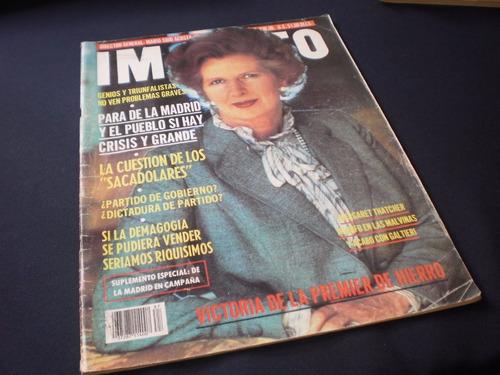revista impacto, margaret thatcher - mario s.