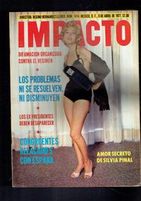 Revista Impacto Silvia Pinal