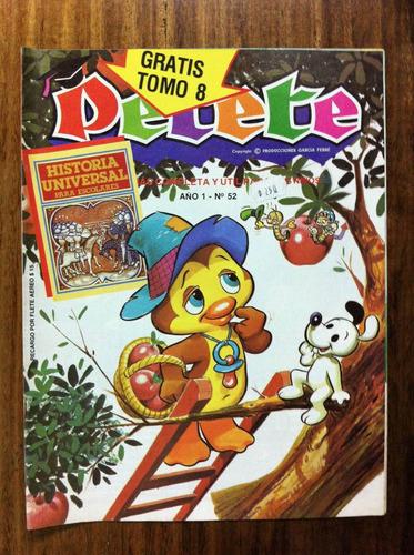 revista infantil petete nº 52