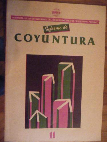revista informe de coyuntura nº 11 comercio exterior -  1988
