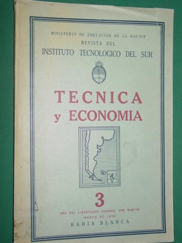 revista instituto tecnologico sur bahia blanca 1950 nro. 3