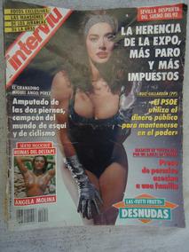 Revista Interviu Nº 854 Septiembre 1992 Angela Molina