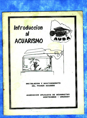 revista - introduccion al acuarismo - auda