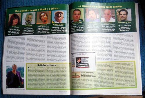 revista isto é 1482 - 25 fevereiro 1998 luciano huck maconha