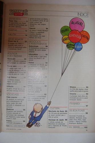 revista isto é - 21 de junho de 1989 - número 1031