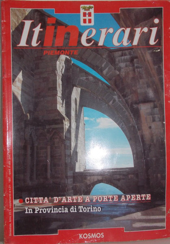 revista itinerari- piemonte número 21-1997