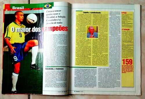 revista já diario popular copa frança 98 ano 2 n°56a