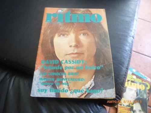 revista juvenil ritmo  nº 439  david cassidy -(421