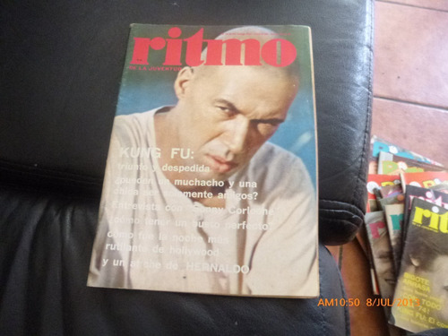 revista juvenil ritmo  nº  454 kung fu --(431