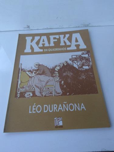 revista kafka em quadrinhos léo durañona / zerada