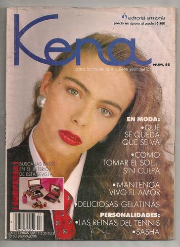 revista kena sasha sokol timbiriche 1990