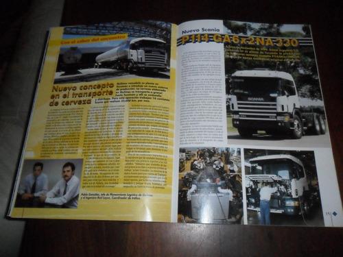 revista kilometro scania 2000 camion transporte laurenzano