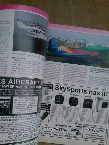 revista - kitplanes - january 1995 - rand-robinson kr-25