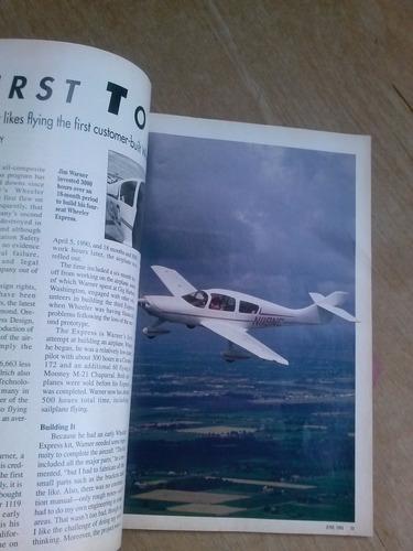 revista - kitplanes - june 1993 - 96 páginas - escape to new