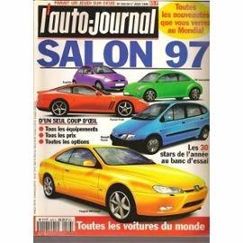 revista l auto journal  especial autos 1997 salón automovil
