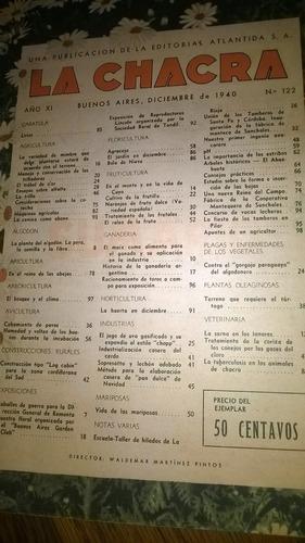 revista  la chacra  diciembre 1940