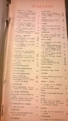 revista  la chacra  marzo 1952