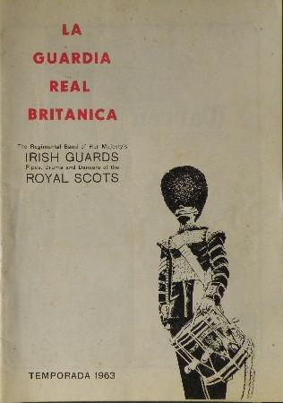 revista la guardia real británica. en castellano / historia