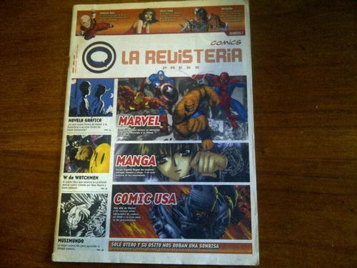 revista la revisteria comics press n° 7