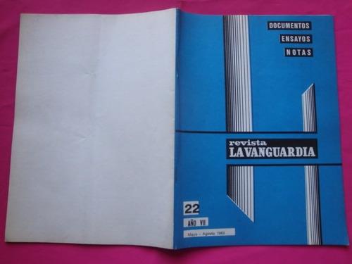 revista la vanguardia n° 22 año 1983 - socialismo