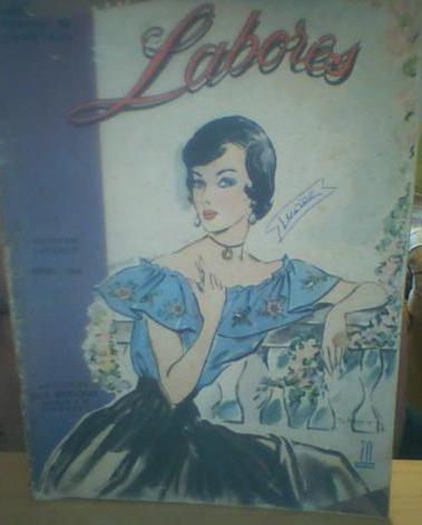 revista labores de vosotras janeiro /1949-em espanhol
