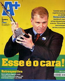 revista lance a+: bernardinho !! de dezembro de 2006