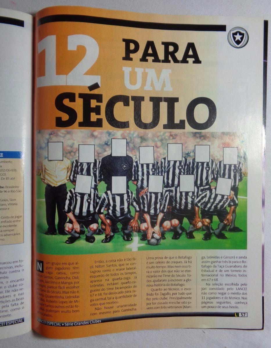 Revista Lance Botafogo Futebol Edição Especial 1993 - R  50 22071f5146540