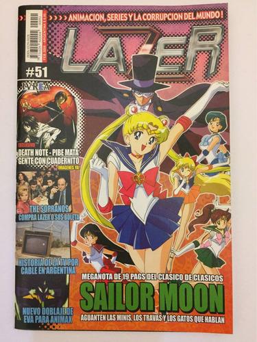 revista lazer sailor moon anime manga original comic