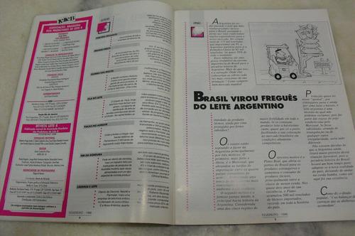 revista leite b - ano 10 - no 112 - fevereiro / 1996