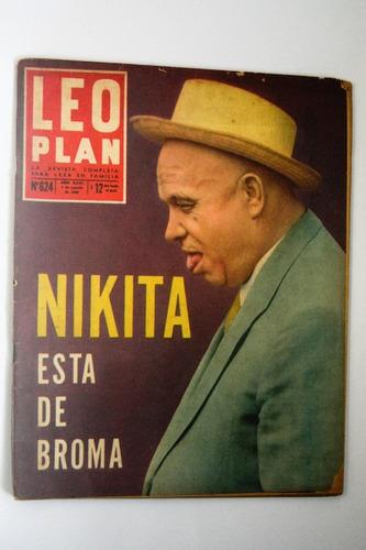revista  leo plan  nikita  n° 624 año 1960 (caballito)