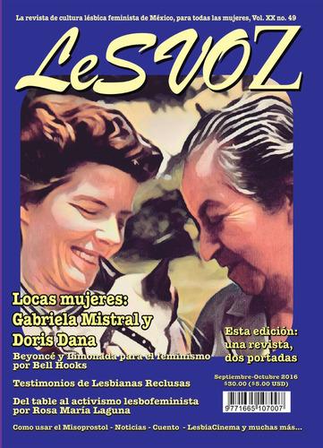 revista lesvoz #49, 2016, cultura lésbica feminista