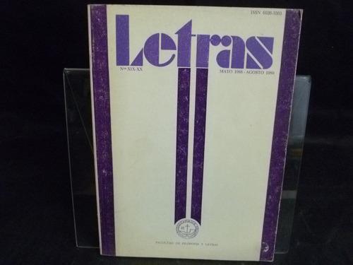 revista letras n19-20 1988-89 m5