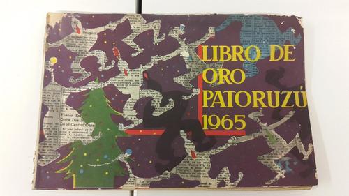 revista libro de oro patoruzu 1965