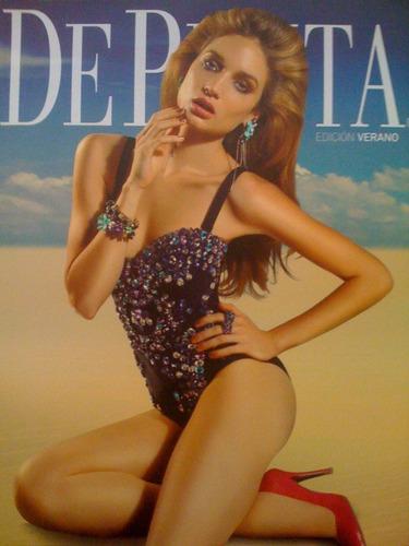revista- libro  de punta  290pag. bilingue (español- ingles)