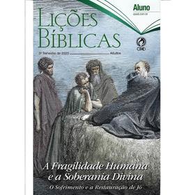 Revista Lições Bíblias Adulto 4° Trimestre 2020 Aluno - Cpad