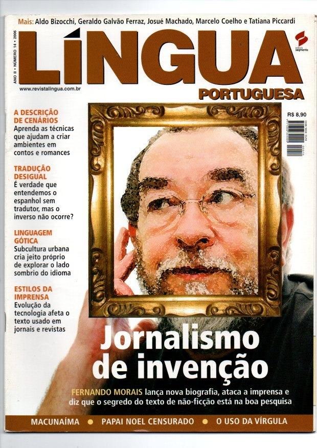 54c0503101 Revista Lingua Portuguesa Jornalismo De Invenção Nº 14 - R  12