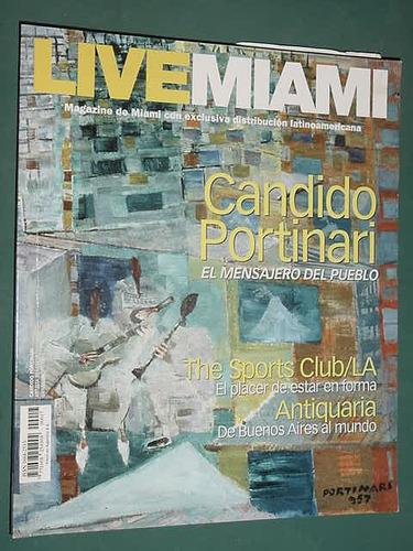 revista live miami oct/04 candido portinari antiquaria