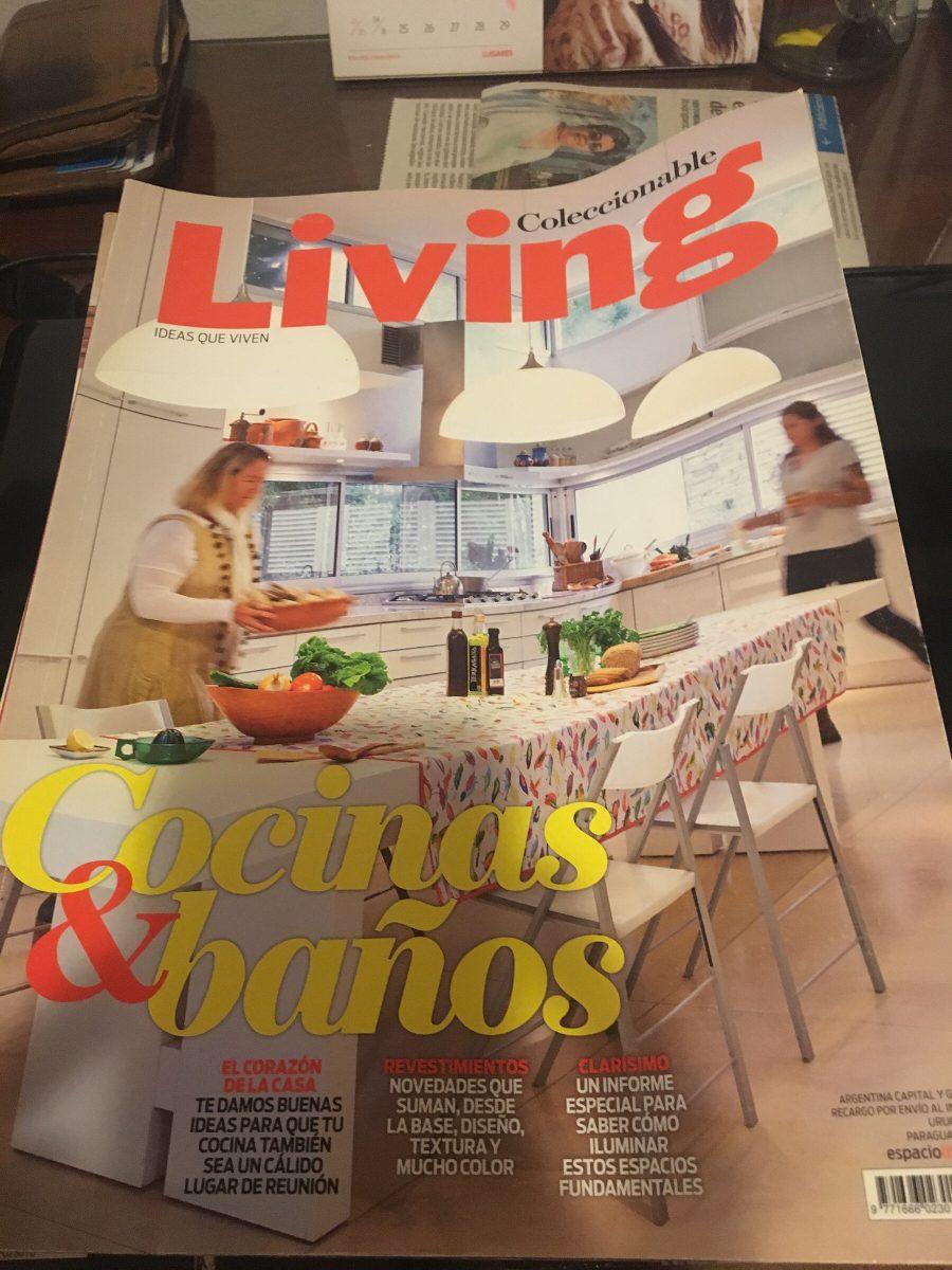Revista Living- Cocinas Y Baños - $ 30,00 en Mercado Libre