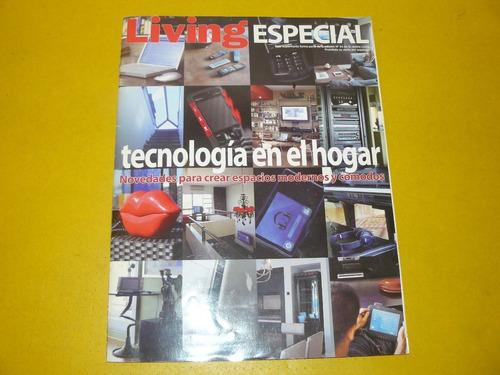 revista living diseño decoracion tecnologia en el hogar  con