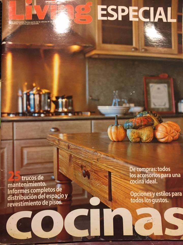 Revista Living Especial - Cocinas - Numero 25 - Deco - $ 35,00 en ...