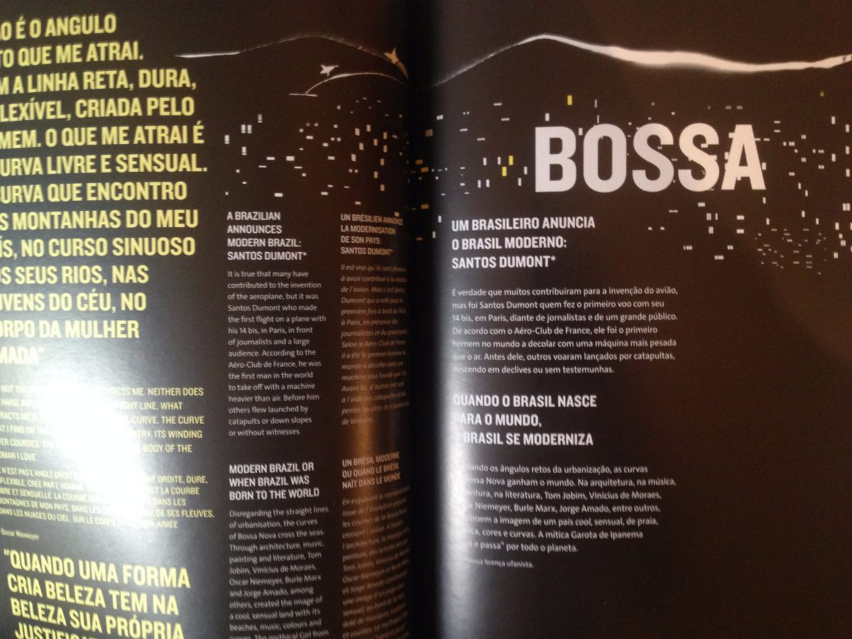 Revista Livro Media Guide Abertura Olimpiadas Rio 2016