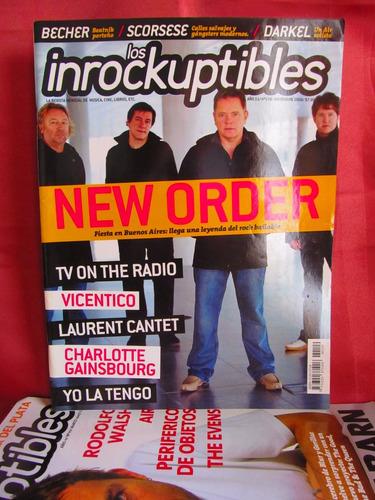 revista los inrockuptibles nro 109 new order