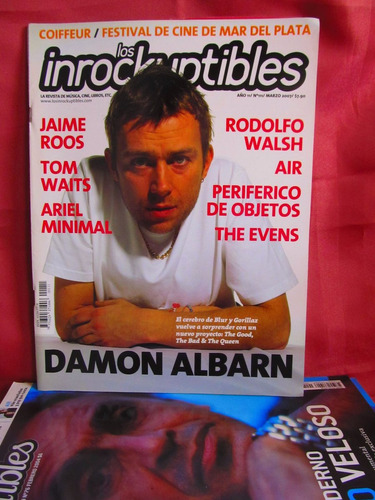 revista los inrockuptibles nro 111 damon albarn