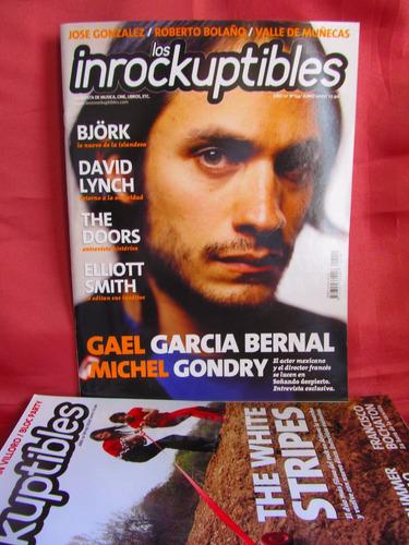 revista los inrockuptibles nro 114 gael g bernal michel gond