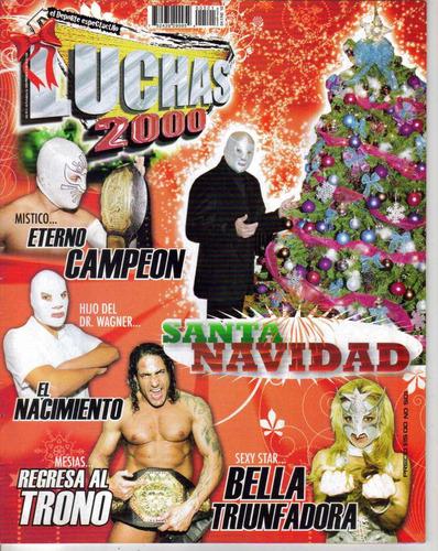 revista luchas 2000 # 501  el hijo del santo   $ 50.00